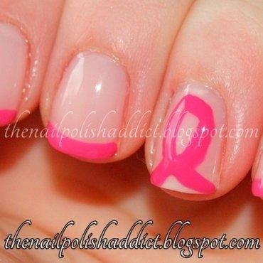 BCA French nail art by Leah