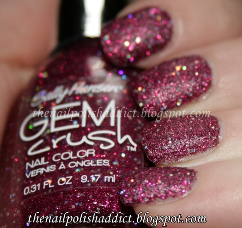 Sally Hansen Gem Crush Lady Luck Swatch by Leah