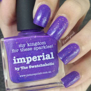 piCture pOlish Imperial Swatch by Priscilla  Lim