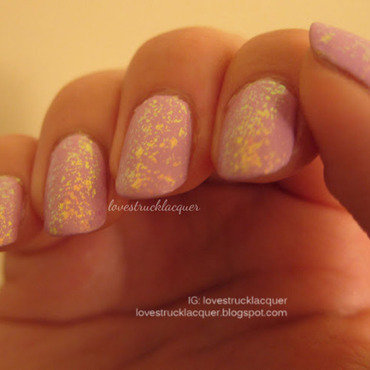 Essie Shine of the Times and Orly lollipop Swatch by Stephanie L