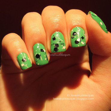 Essie Mojito Madness and JENsations Sticks n Stones Swatch by Stephanie L