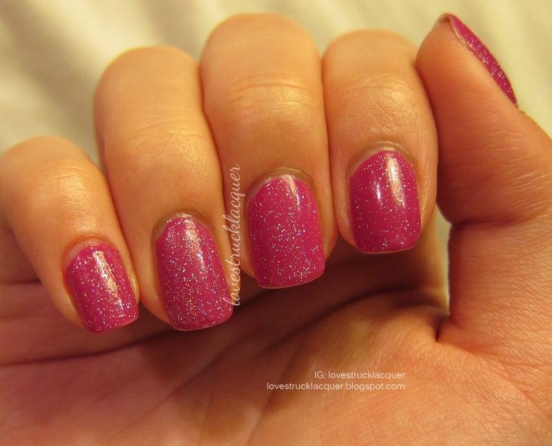 China Glaze Fairy dust Swatches and Nail Art - Nailpolis: Museum of ...