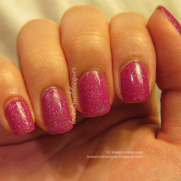 China Glaze Fairy Dust and OPI Dim Sum Plum Swatch by Stephanie L