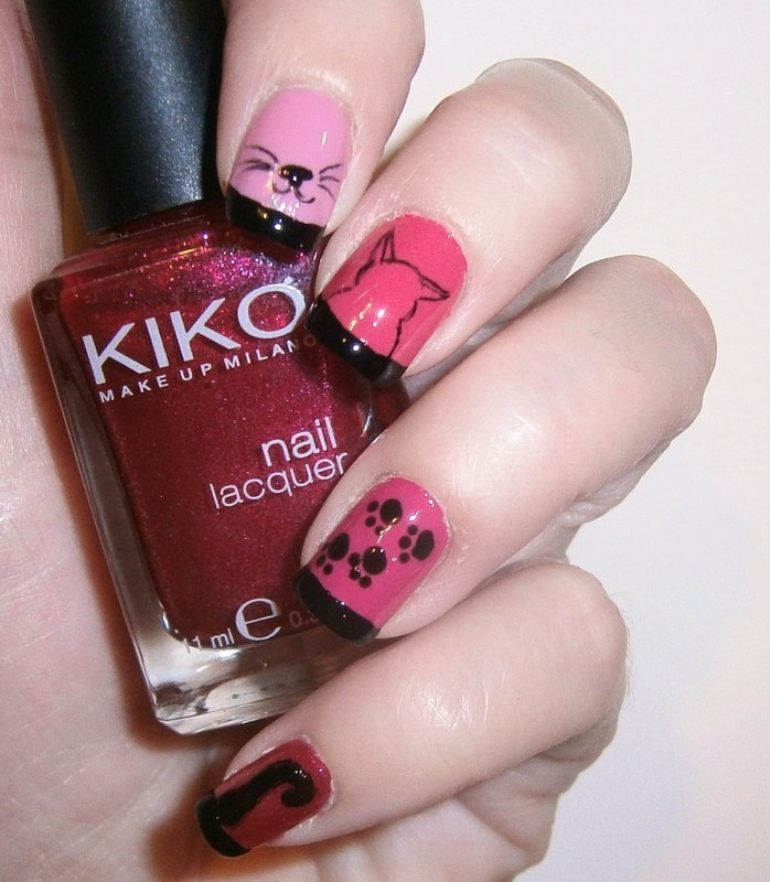 love cats <3 nail art by sissynailsmakeup
