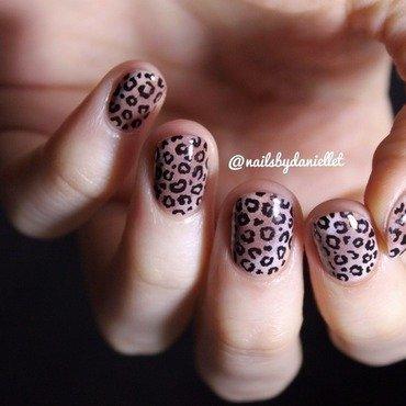 Meow!  nail art by Danielle