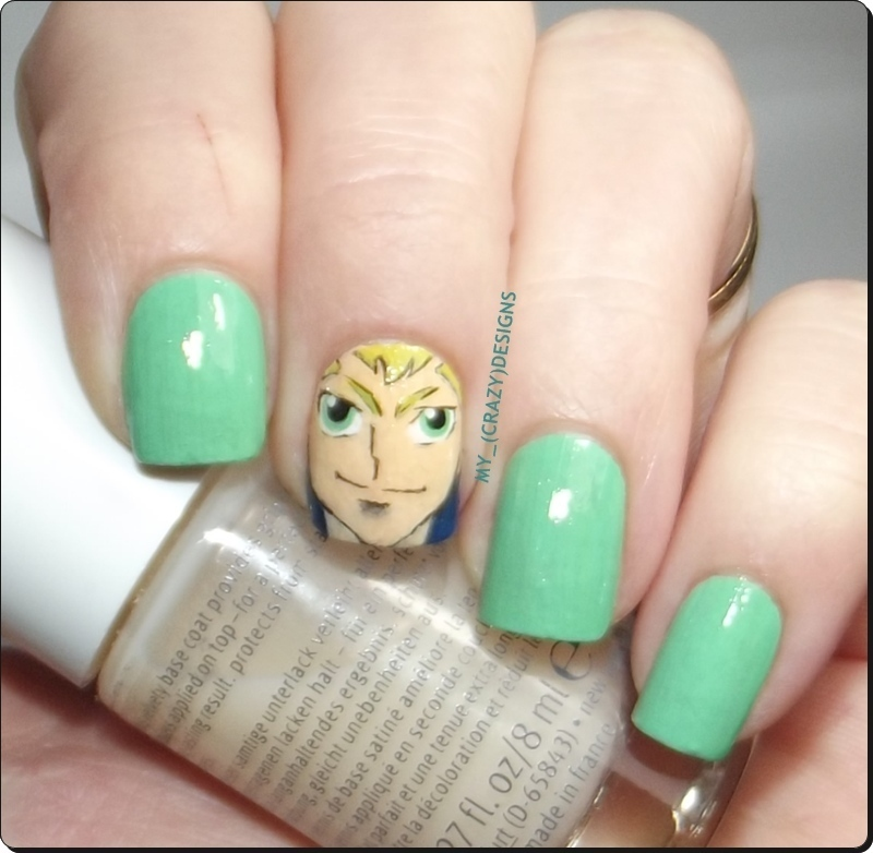 Piscis nails nail art by Mycrazydesigns