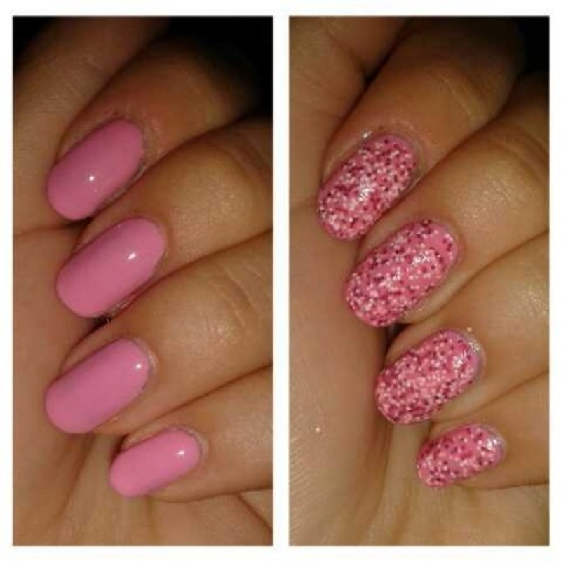 Sweet candy nail art by Kinga