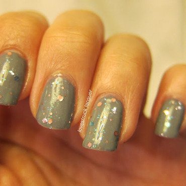 Revlon Whimsical and Avon Grey Flash Swatch by Stephanie L