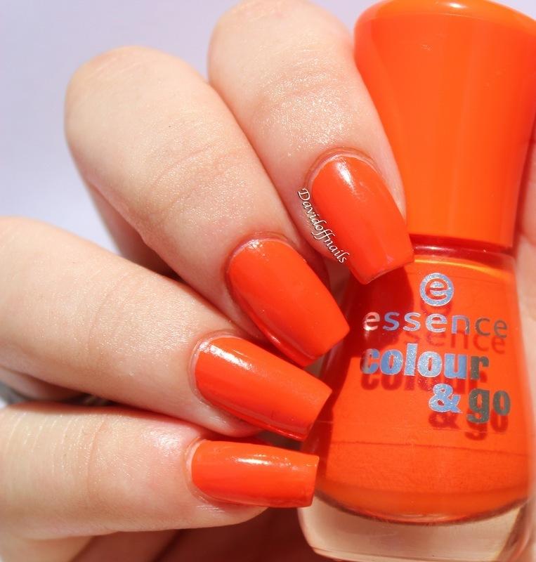 Essence Colour & Go Flashy Pumpkin Swatch by Kiara Davidoff