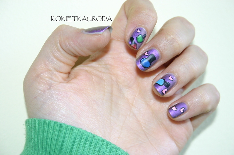Inspiration: polishes nail art by Koralina
