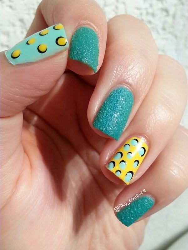 Dotticure nail art by Ximena Echenique