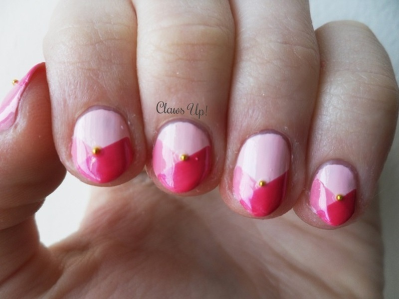 Sleeping Beauty nail art by Jacquie