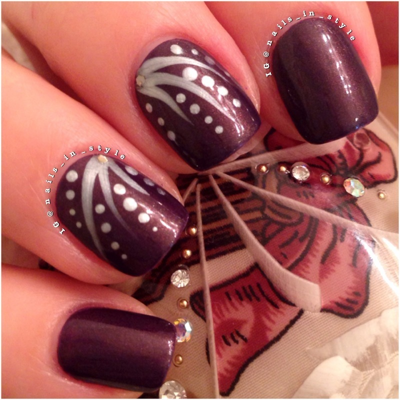 Evening Charm nail art by Nails_In_Style