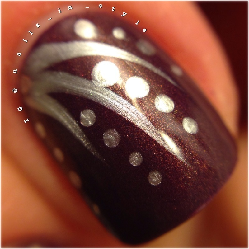 Evening Charm MacroShot nail art by Nails_In_Style
