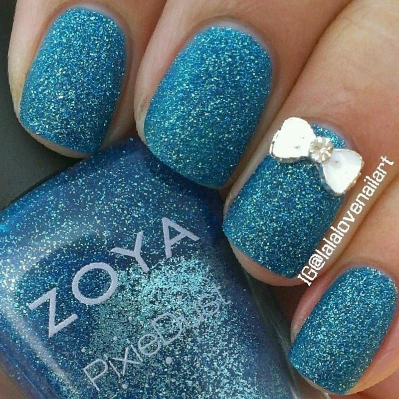 Zoya PixieDust Liberty Swatch by Jessica Byles