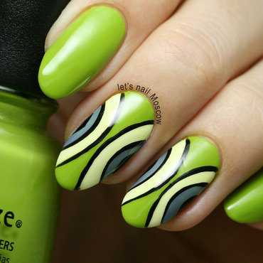 31dnc green nails green apple abstract geometric nail art       nails nailart beautiful nails         blogger nailblogger china glaze def defying nail polish swatch beautyblogger 2 1 thumb370f