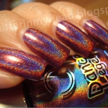 Dance Legend New prism Optical Illusion Swatch by The Wonderful Pinkness