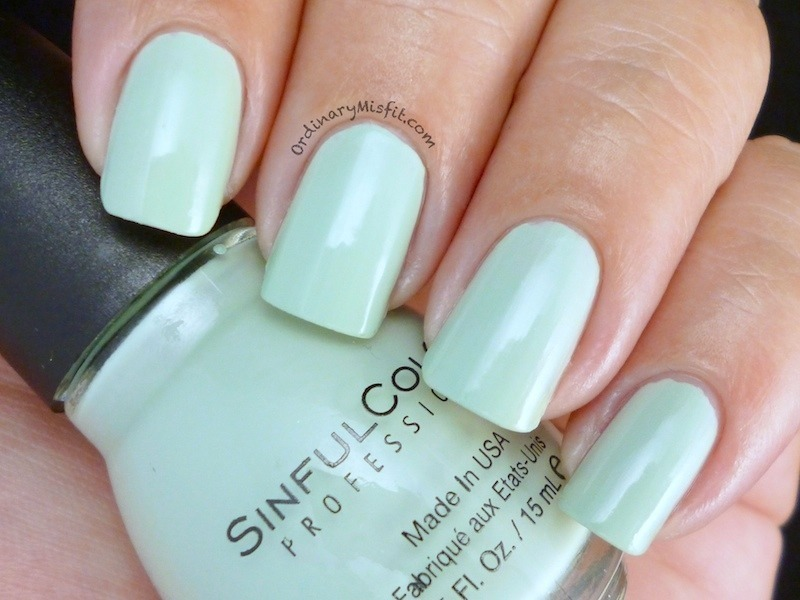 Sinful Colors Lagon Swatch by Michelle