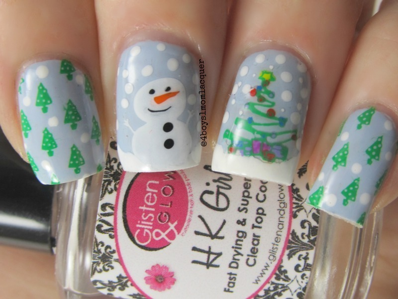 Lolly-Day nail art by Jennifer Starnes