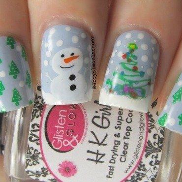 Lolly-Day nail art by Jennifer Starnes