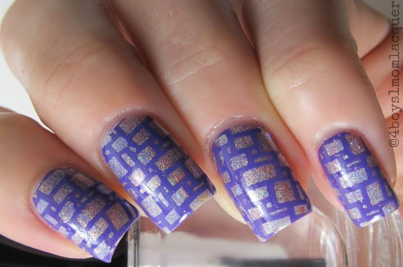 Brickly nail art by Jennifer Starnes