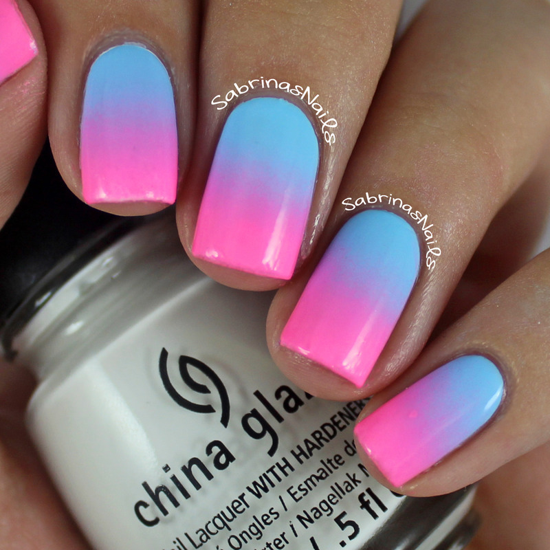 Cotton Candy Ombre Nails nail art by Sabrina - Nailpolis: Museum of ...