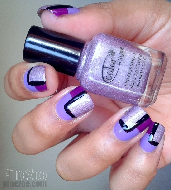 Pantone 2014 Inspiration nail art by Pinezoe