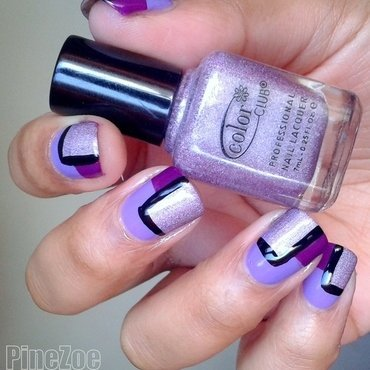 Pantone 2014 Inspiration nail art by Pinezoe