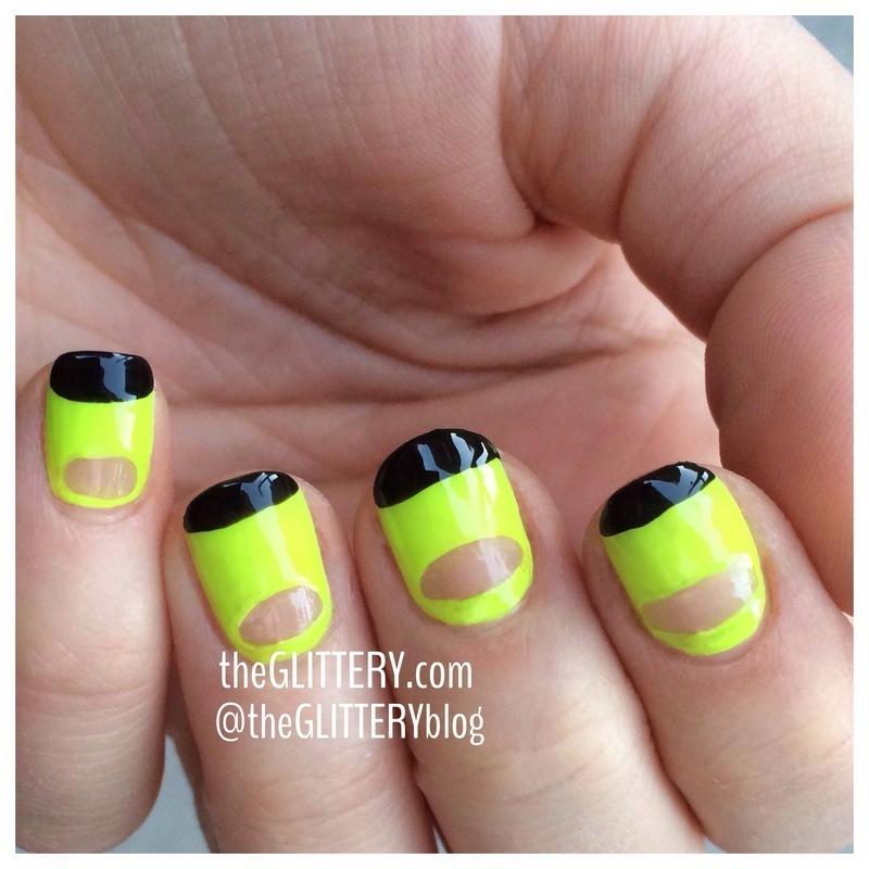 ninja nails!  nail art by Ari  Fund