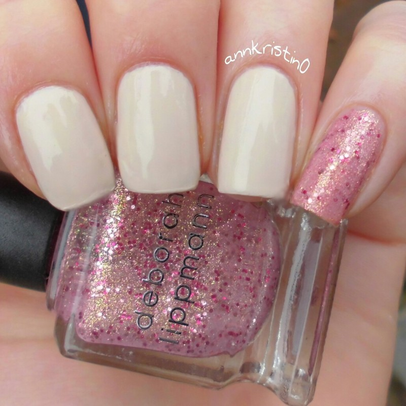 Nude Pinky Prettiness nail art by Ann-Kristin