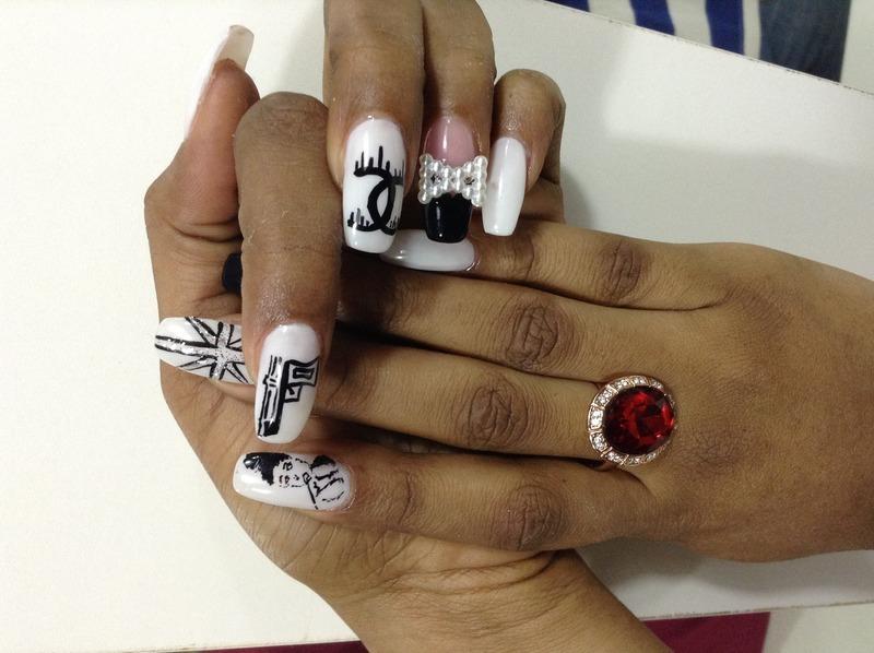 Art nails  nail art by Prince  Eyo nsa