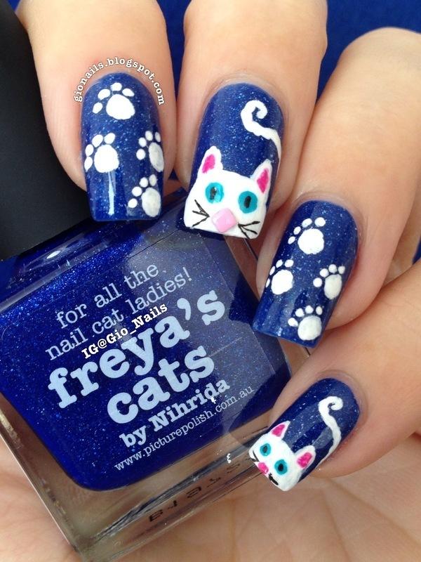 #LLadoration nail art by Giovanna - GioNails