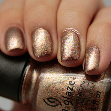 China Glaze Goldie But Goodie Swatch by Yulia