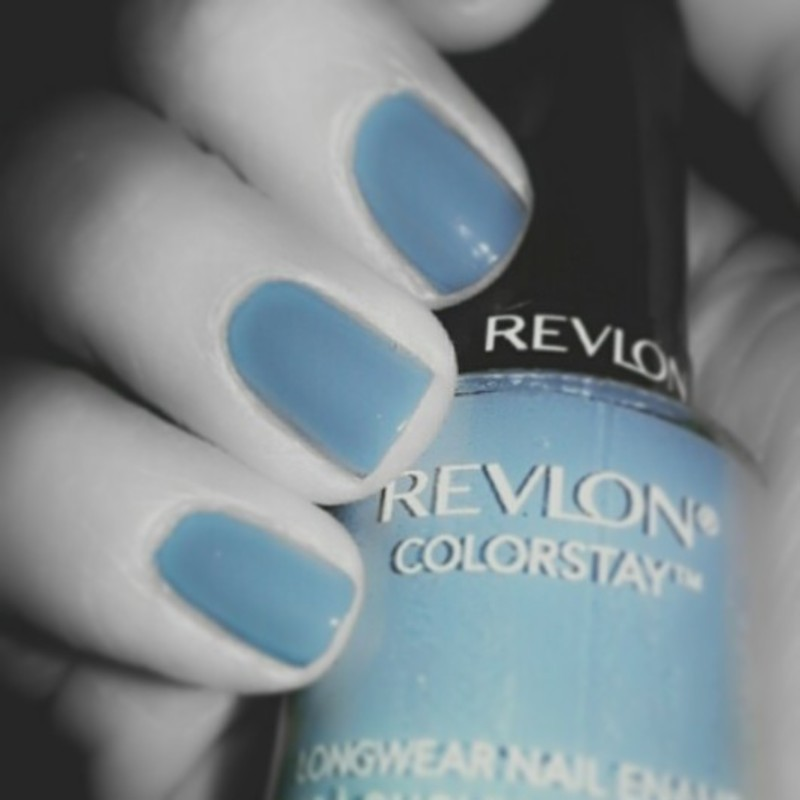 Revlon Blue Slate Swatch by Evy Rodrigues