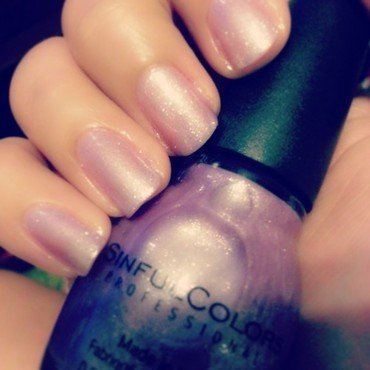 SinfulColors Purple Diamond Swatch by Evy Rodrigues