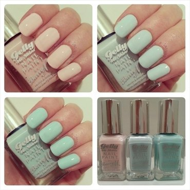 New barry m gelly pastel nail polish swatches 2014 thumb370f