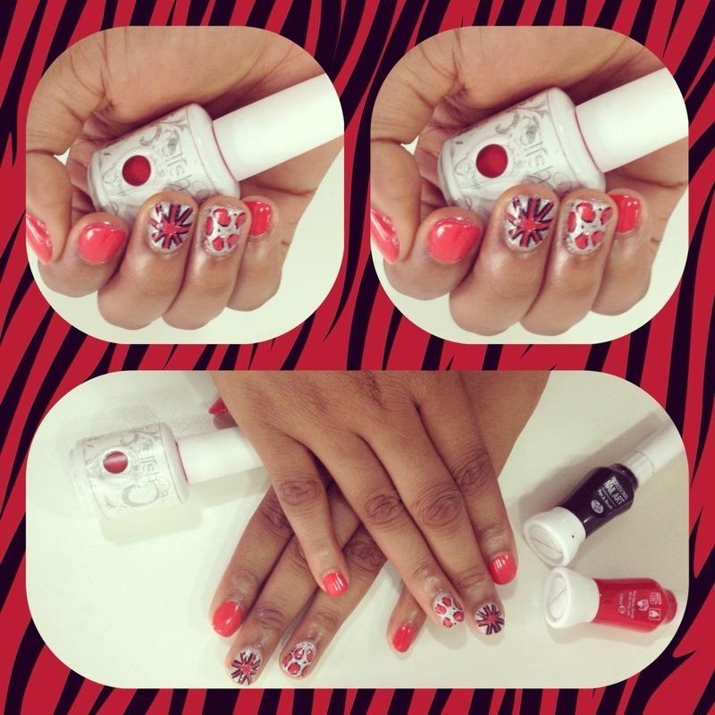 Gel polish  nail art by Prince  Eyo nsa