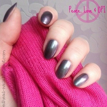 OPI Peace, Love & OPI Swatch by Redhead Nails