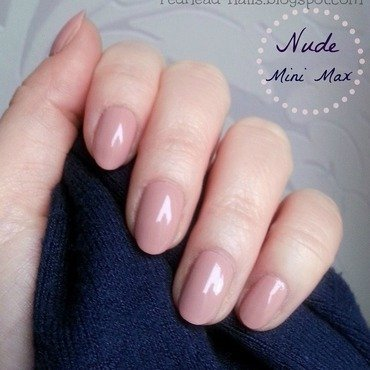 eveline Mini Max no 496 Swatch by Redhead Nails
