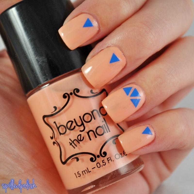 Creamsicle Nails nail art by Maddy S