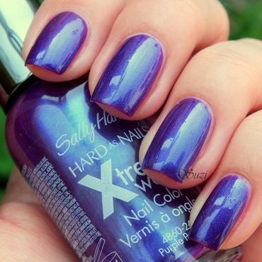 Sally Hansen Xtreme Wear 350 Purple Potion Swatch by Suzi - Beauty by Suzi
