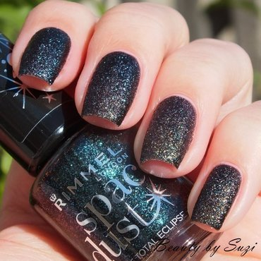 Rimmel Space Dust 005 Total Eclipse Swatch by Suzi - Beauty by Suzi