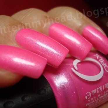 Orly Flirty Swatch by The Wonderful Pinkness