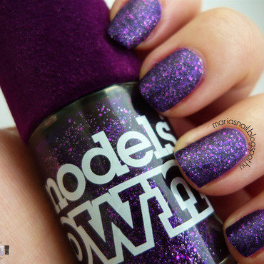 Models Own 177 Amethyst Swatch by Maria