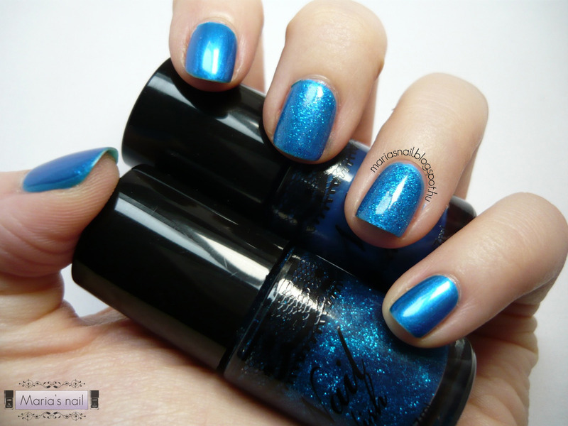 H&M Blue duo Swatch by Maria