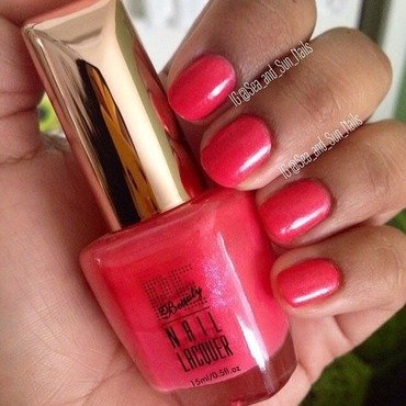 PE Beauty Watermelon Swatch by Marisol Medina