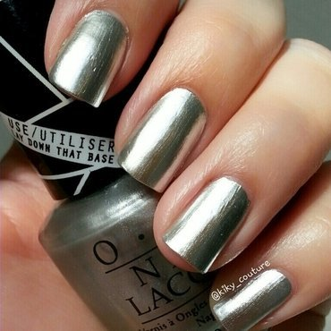 OPI Push and Shove Swatch by Ximena Echenique