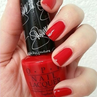 OPI Over and over A-Gwen Swatch by Ximena Echenique
