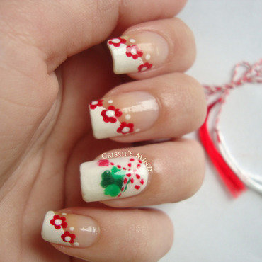 Martisor nail art by Christina