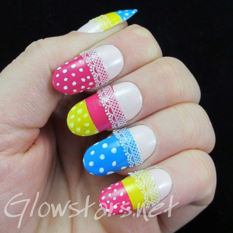 I made a promise to myself nail art by Vic 'Glowstars' Pires